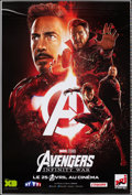 """Avengers: Infinity War (Walt Disney Pictures, 2018). Rolled, Very Fine+. Printer's Proof French Poster (46.75"""" X 69..."""