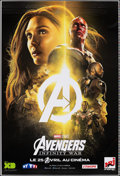 "Movie Posters:Action, Avengers: Infinity War (Walt Disney Pictures, 2018). Rolled, Very Fine+. Printer's Proof French Poster (46.5"" X 69"") DS Adva..."