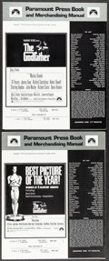 """Movie Posters:Crime, The Godfather & Other Lot (Paramount, 1972). Fine/Very Fine. Uncut Pressbooks (Multiple Pages, 12.5"""" X 15"""") 2 Styles, S. Nei... (Total: 3 Items)"""