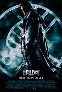 """Hellboy & Other Lot (Columbia, 2004). Rolled, Very Fine-. One Sheets (3) (27"""" X 40"""" & 27"""" X 39.75..."""