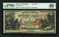 Decatur, MI - $5 1875 Fr. 401 The First National Bank Ch. # 1722 PMG Extremely Fine 40 Net