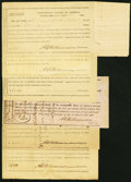 Confederate Notes:Group Lots, North Carolina Interim Depository Receipts Various Amounts 1864 Very Good-Fine or Better.. Charlotte Tremmel NC-19; NC-20;... (Total: 6 items)