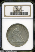 Seated Dollars: , 1840 AU50 NGC. The current Coin Dealer Newsletter (...