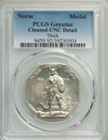 1925 Medal Norse, Thick Planchet, -- Cleaning -- PCGS Genuine. Unc Details. Mintage 31,750. ...(PCGS# 9450)