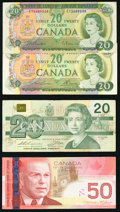 Canada Group Lot of 14 Examples Including Six Canadian Tire Coupons Very Good or Better. ... (Total: 14 notes)