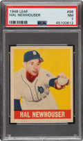Baseball Cards:Singles (1940-1949), 1948 Leaf Hal Newhouser #98 PSA NM 7 - Scarce Short Print. ...