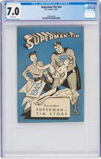 Superman-Tim December 1944 (DC, 1944) CGC FN/VF 7.0 White pages