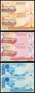 Bahrain Group Lot of 10 Examples Crisp Uncirculated