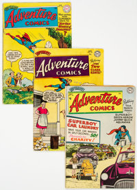 Adventure Comics #190, 191, and 208 Group (DC, 1953-55).... (Total: 3 Comic Books)