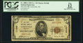 National Bank Notes:New York, Unionville, NY - $5 1929 Ty. 1 The First National Bank Ch. # 11448 PCGS Apparent Fine 12.. ...