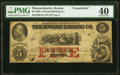 Boston, MA- Howard Banking Co. Counterfeit $5 Aug. 23, 1858 C8a PMG Extremely Fine 40