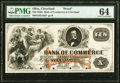 Cleveland, OH- Bank of Commerce $10 G16a Wolka 0700-19 Proof PMG Choice Uncirculated 64