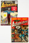 Golden Age (1938-1955):Horror, Astonishing #24 and 39 Group (Atlas, 1953-55).... (Total: 2 Comic Books)