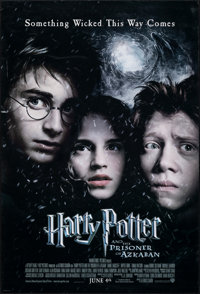 """Harry Potter and the Prisoner of Azkaban (Warner Bros., 2004). Rolled, Very Fine-. One Sheet (27"""" X 40"""") SS, A..."""