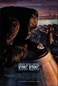 "King Kong (Universal, 2005). Rolled, Very Fine. International One Sheets (3) (27"" X 40"") DS, Advance, Two Styl..."
