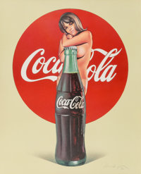 Mel Ramos (1935-2018) Coca Cola, 1972 Lithograph in colors on paper 30-3/4 x 25-1/8 inches (78.1 x 63.8 cm) (sheet)