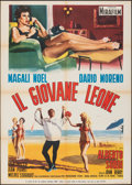 "Movie Posters:Foreign, Oh! Qué Mambo (Mira Film, 1959). Folded, Very Fine-. Italian 2 - Fogli (39.25"" X 55""). Foreign.. ..."