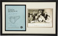 """Explorers:Space Exploration, Mercury Seven: Original Group Photo and NASA's """"Results of the First United States Manned Orbital Space Flight February 20, 1..."""