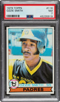Baseball Cards:Singles (1970-Now), 1979 Topps Ozzie Smith #116 PSA NM 7....