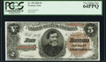 Large Size:Treasury Notes, Fr. 359 $5 1890 Treasury Note PCGS Very Choice New 64PPQ.. ...