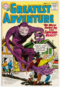 My Greatest Adventure #43 (DC, 1960) Condition: FN/VF