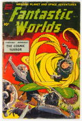 Fantastic Worlds #6 (Standard, 1952) Condition: GD
