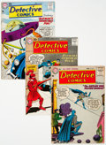 Golden Age (1938-1955):Superhero, Detective Comics Group of 4 (DC, 1956-67).... (Total: 4 Items)