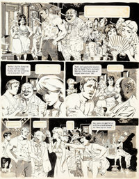 Wally Wood Mad #35 Story Page 3 Original Art (EC Publ., 1957)