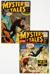 Mystery Tales #28 and 30 Group (Atlas, 1955) Condition: Average GD/VG.... (Total: 2 Comic Books)