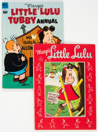 Marge's Little Lulu #131 and Annual #2 Group (Dell, 1954-59).... (Total: 2 Comic Books)