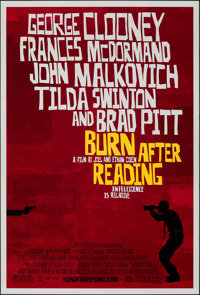 """Burn After Reading & Other Lot (Focus Features, 2008). Rolled, Very Fine-. One Sheets (2) (27"""" X 40"""") DS..."""