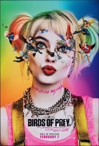Birds of Prey: And the Fantabulous Emancipation of One Harley Quinn (Warner Bros., 2020). Rolled, Near Mint. One Sheet (...