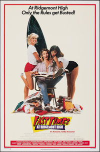 "Fast Times at Ridgemont High (Universal, 1982). Rolled, Near Mint. One Sheet (27"" X 41""). Comedy"