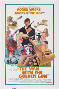 "The Man with the Golden Gun (United Artists, 1974). Folded, Very Fine. One Sheet (27"" X 41"") Eastern Hemispher..."