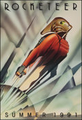 """Movie Posters:Action, The Rocketeer (Walt Disney Pictures, 1991). Rolled, Very Fine. One Sheet (27"""" X 40"""") DS Advance. John Mattos Artwork. Action..."""