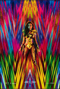 """Movie Posters:Action, Wonder Woman 1984 (Warner Bros., 2020). Rolled, Very Fine+. One Sheet (27"""" X 40"""") DS Advance. Action.. ..."""
