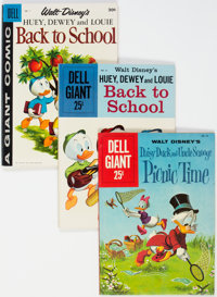 Dell Giant-Size Comics Group of 4 (Dell, 1954-60) Condition: Average FN.... (Total: 4 Comic Books)