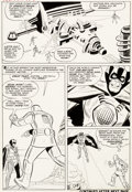 Original Comic Art:Panel Pages, Steve Ditko and Don Heck Tales of Suspense #47 Story Page 6 Iron Man vs. the Melter Original Art (Marvel, 1963)....