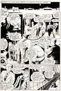 Original Comic Art:Panel Pages, Dave Stevens Rocketeer Adventure Magazine #1 Story Page 6 Original Art (Comico, 1988)....