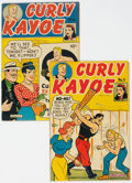 Golden Age (1938-1955):Humor, Curly Kayoe #5 and 6 Rockford Pedigree Group (United Feature Syndicate, 1947).... (Total: 2 Comic Books)