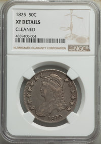1825 50C -- Cleaned -- NGC Details. XF. Mintage 2,900,000. ...(PCGS# 6142)