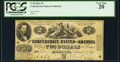 Confederate Notes:1861 Issues, T38 $2 1861 Cr. 286 PCGS Very Fine 20.. ...