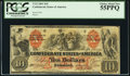 Confederate Notes:1861 Issues, T22 $10 1861 Cr. 152 PCGS Choice About New 55PPQ.. ...