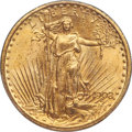 Saint-Gaudens Double Eagles, 1908 $20 Motto MS64 PCGS. CAC....