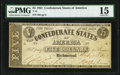 Confederate Notes:1861 Issues, T12 $5 1861 PF-1 Cr. 47 PMG Choice Fine 15.. ...
