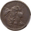 Large Cents, 1794 1C Head of 1794, S-44, B-33, R.1, AU50 PCGS....