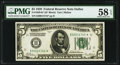 Fr. 1950-K* $5 1928 Federal Reserve Note. PMG Choice About Unc 58 EPQ