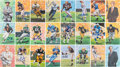 Football Collectibles:Others, 1989-2016 Goal Line Art Pro Football Hall of Fame Signed Lot of 240+....