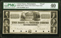 Obsoletes By State:Pennsylvania, Philadelphia, PA- Bank of the United States (PA Charter) $3000 Post Note 18__ UNL Proof PMG Extremely Fine 40.. ...