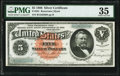 Large Size:Silver Certificates, Fr. 261 $5 1886 Silver Certificate PMG Choice Very Fine 35.. ...